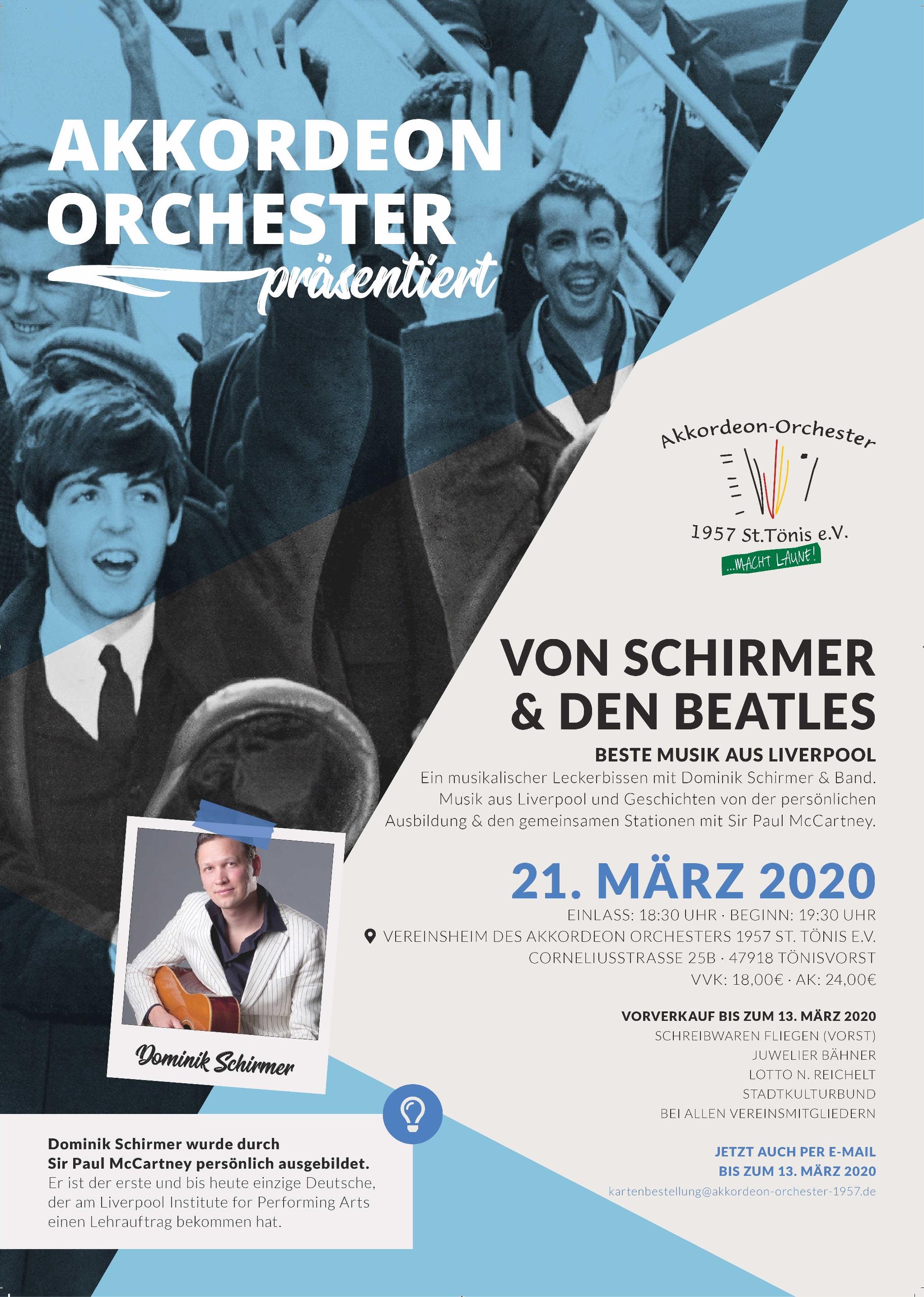 Plakat Schirmer